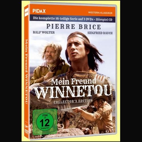 Mein Freund Winnetou (Jean-Claude Deret) Europa 1980 - Pidax 2021