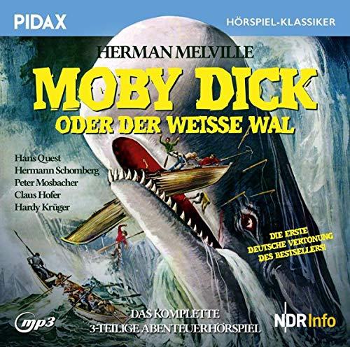 Pidax Hörspiel-Klassiker - Moby Dick (Herman Melville) NWDR 1948 / pidax 2018