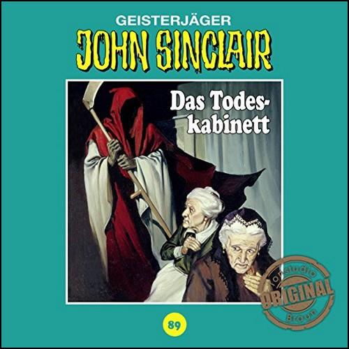 John Sinclair (89) Das Todeskabinett (Jason Dark) Tonstudio Braun 19?? / Lübbe Audio 2019