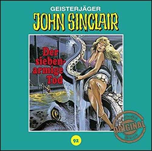 John Sinclair (92) Der siebenarmige Tod (Jason Dark) Tonstudio Braun / Lübbe Audio 2019