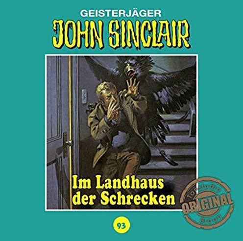 John Sinclair (93) Im Landhaus des Schreckens - Tonstudio Audio / Lübbe Audio 2019