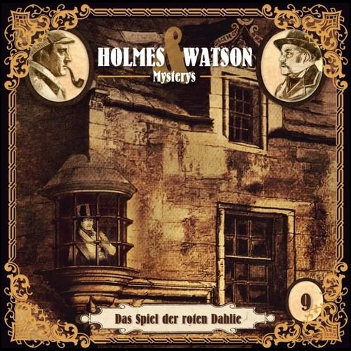 Holmes und Watson Mysterys (9) Das Spiel der roten Dahlie - Hermann Media 2021