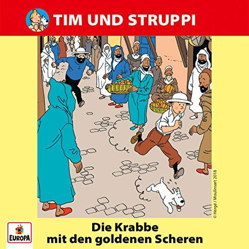 Tim und Struppi (1) Die Krabbe mit den goldenen Scheren - Ariola - Baccarola - Marcato 198? / Europa 2018