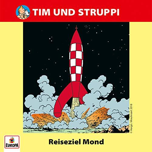 Tim und Struppi (4) Reiseziel Mond - Ariola - Baccarola - Marcato 198? / Europa 2018