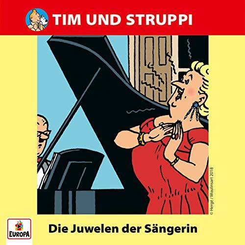 Tim und Struppi (6) Die Juwelen der Sängerin - Ariola - Baccarola - Marcato 198? / Europa 2018