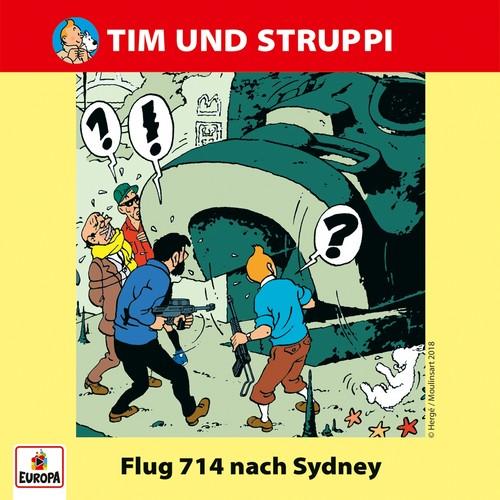 Tim und Struppi (8) Flug 714 nach Sydney - Ariola - Baccarola - Marcato 198? / Europa 2018