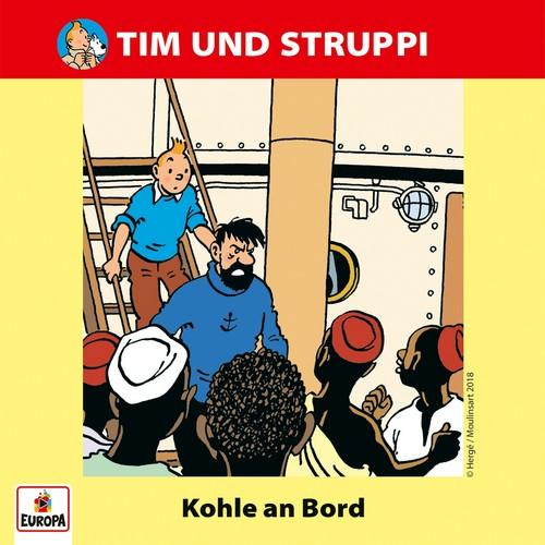 Tim und Struppi (9) Kohle an Bord - Ariola - Baccarola - Marcato 198? / Europa 2018