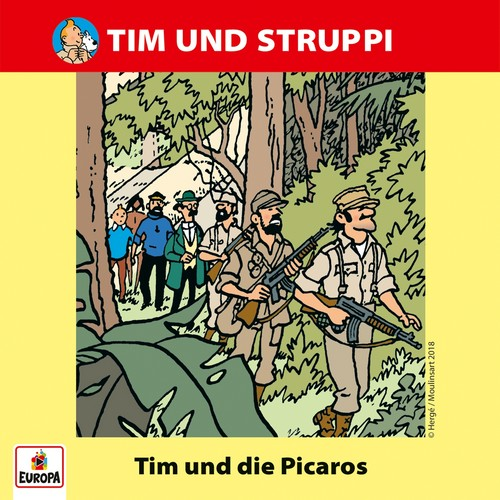 Tim und Struppi (10) Tim und die Picaros - Ariola - Baccarola - Marcato 198? / Europa 2018