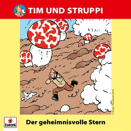 Tim und Struppi (12) Der geheimnisvolle Stern - Ariola - Baccarola - Marcato 1985 / 1986 / Europa 2018