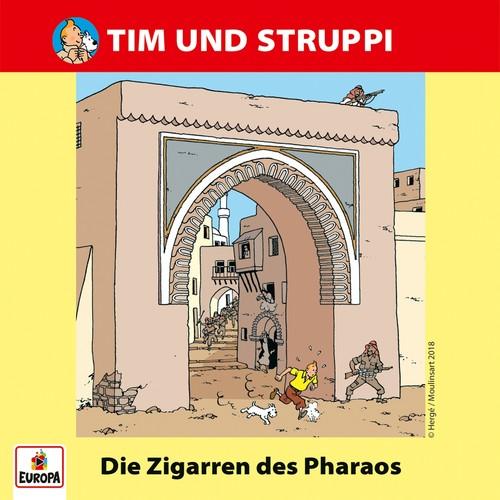 Tim und Struppi (13) Die Zigarren des Pharao - Ariola - Baccarola - Marcato 1986 / Europa 2018
