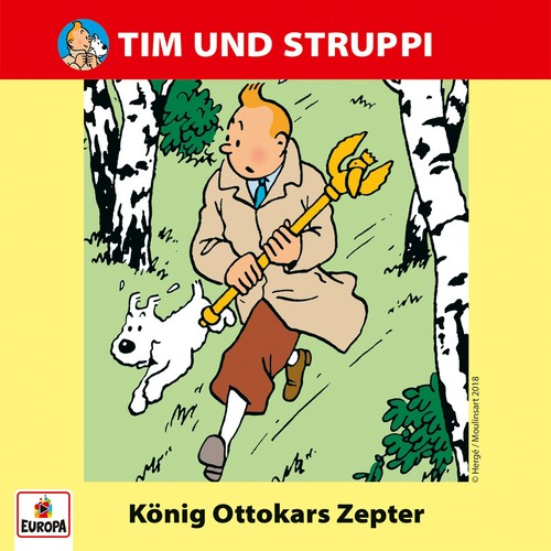 Tim und Struppi (15) König Ottokars Zepter - Ariola - Baccarola - Marcato 1986 / Europa 2018