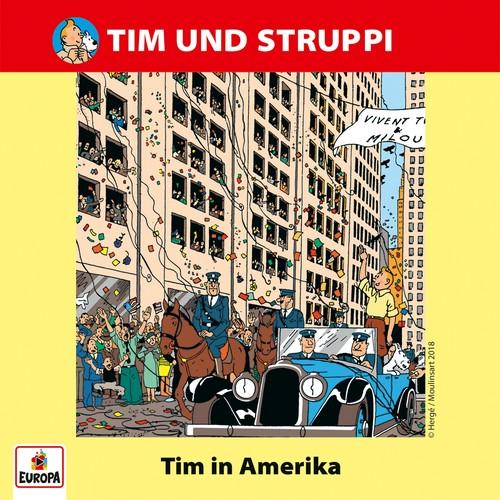 Tim und Struppi (18) Tim in Amerika - Ariola - Baccarola - Marcato 1987 / Europa 2018
