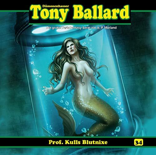 Tony Ballard (34) Prof. Kulls Blutnixe (1/3) - Dreamland Productions / Romantruhe Audio 2019