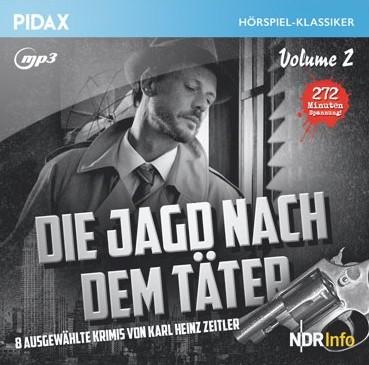 Pidax Hörspiel-Klassiker - Die Jagd nach dem Täter Staffel 2 (Karl Heinz Zeitler) NDR 1957-1961 / Pidax 2018