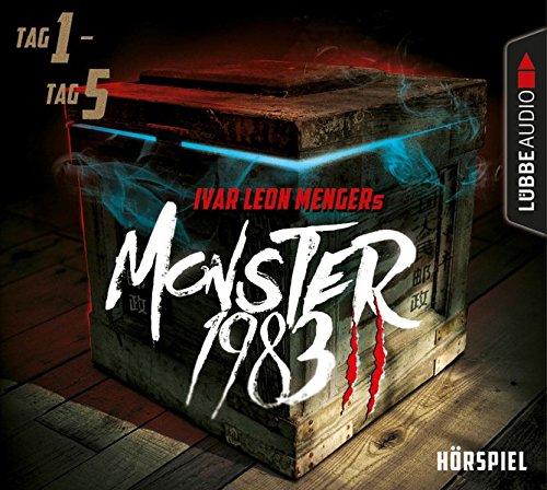 Monster 1983 Staffel 2 (Tag 1-5) (Ivar Leon Menger, Anette Strohmeyer, Raimon Weber) Audible 2016 / Lübbe Audio 2018