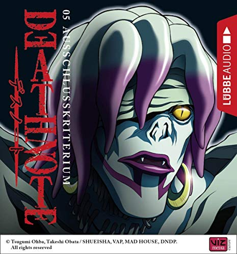 Death Note (5) Ausschlusskriterium - Lübbe Audio 2018
