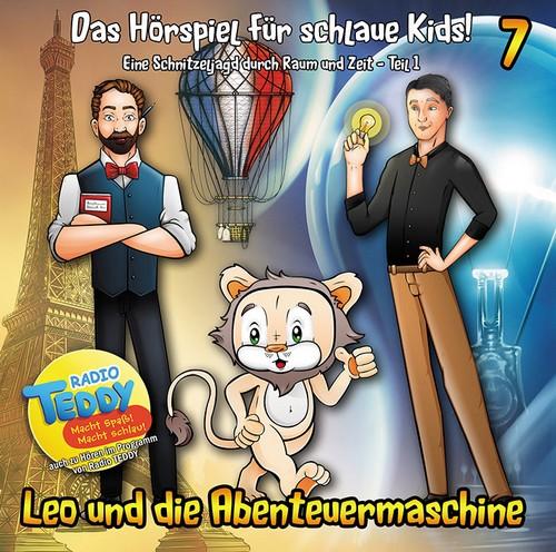 Leo und die Abenteuermaschine (7) Eine Schnitzeljagd durch Raum und Zeit Teil 1 (Matthias Arnold und Simone Döring) e. T. Media 2018