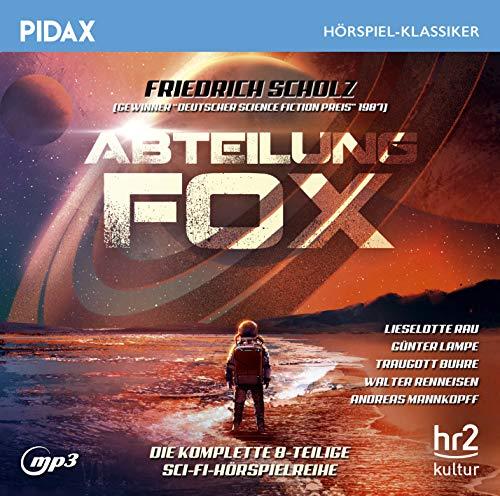 Pidax Hörspiel-Klassiker - Abteilung Fox (Friedrich Scholz) hr 1978 / 1979 / pidax 2018
