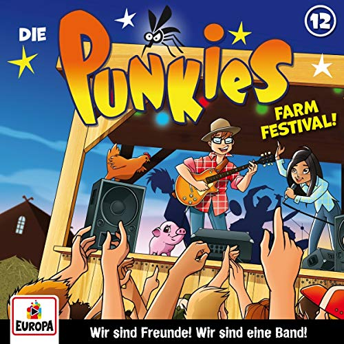 Die Punkies (12) Farm Festival! - Europa 2018