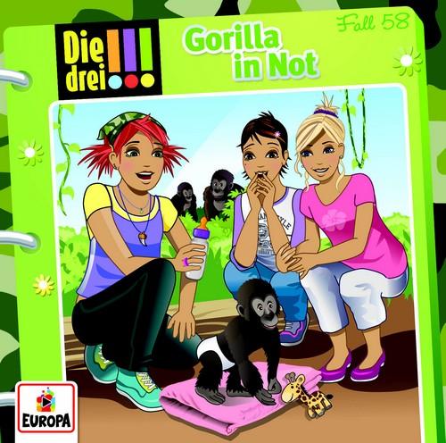 Die drei !!! (58) Gorilla in Not - Europa 2018
