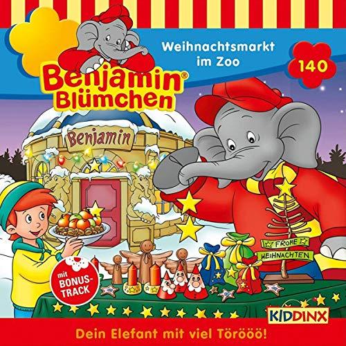 Benjamin Blümchen (140) Weihnachtsmarkt im Zoo - Kiddinx 2018
