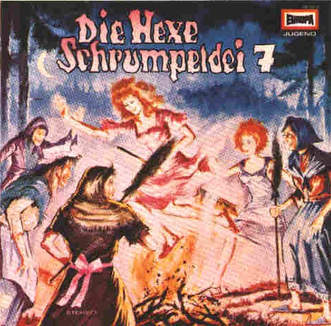 Die Hexe Schrumpeldei (7) Die Hexe Schrumpeldei und die Walpurgisnachthexerei  - Europa 1978 / 2018