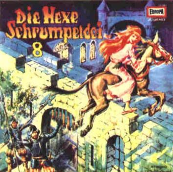 Die Hexe Schrumpeldei (8) Die Hexe Schrumpeldei und der geheimnisvolle Turm  - Europa 1979 / 2018