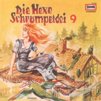 Die Hexe Schrumpeldei (9) Die Hexe Schrumpeldei und der fliegende Teppich  - Europa