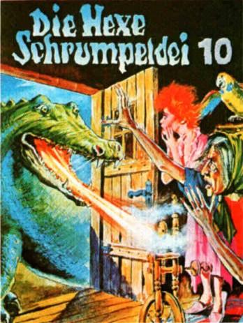 Die Hexe Schrumpeldei (10) Die Hexe Schrumpeldei und die Drachenhexerei - Europa