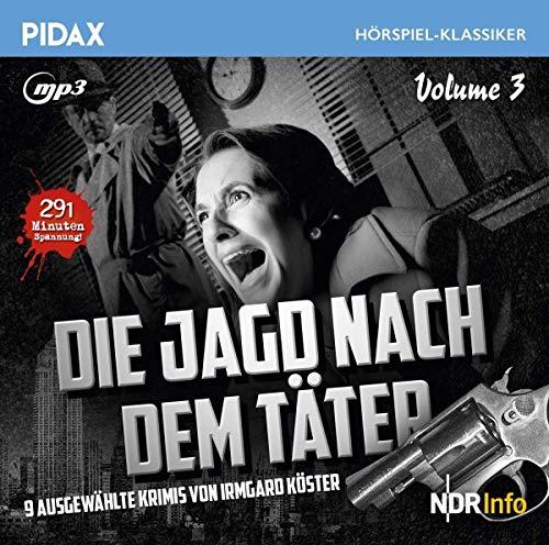 Pidax Hörspiel-Klassiker - Die Jagd nach dem Täter Staffel 3 (Irmgard Köster) NDR 1957-1958 / Pidax 2019