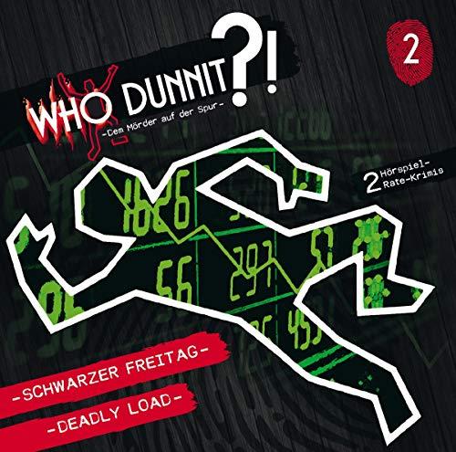 WHO DUNNIT - Dem Mörder auf der Spur (2) Schwarzer Freitag - Deadly Load - Winterzeit 2019