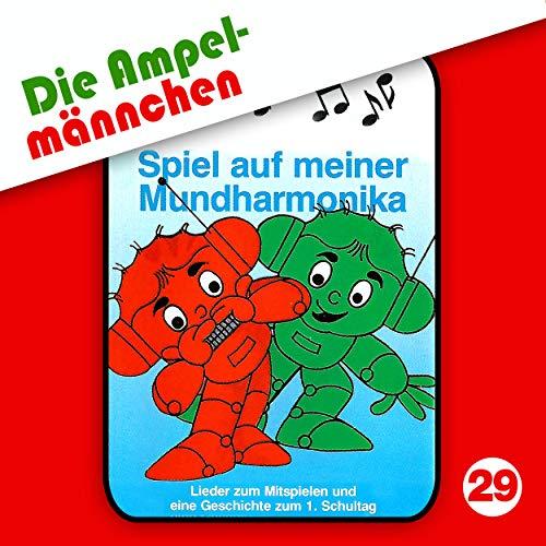 Ampelmännchen (29) Spiel mit der Mundharmonika - Karusell 198? / maritim / AllEars 2018