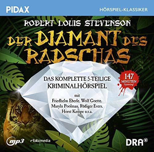Pidax Hörspiel-Klassiker - Der Diamant des Radschas (Robert Louis Stevenson) Rundfunk der DDR 1976 / pidax 2019