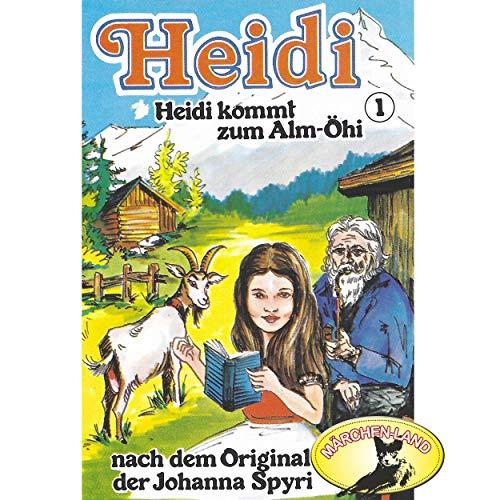 Heidi (1) Heidi kommt zu Alm-Öhi - Märchenland 1978 / Maritim / AllEars 2018