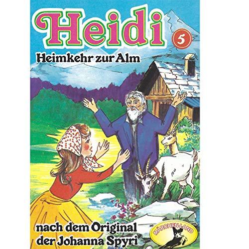 Heidi (5) Heimkehr zur Alm - Märchenland 1978 / AllEars 2019