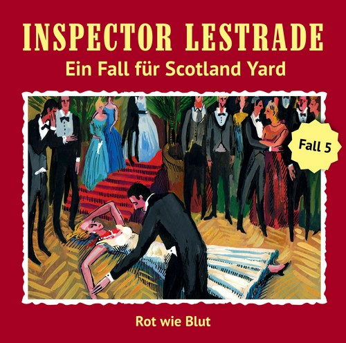 Inspector Lestrade (5) Rot wie Blut - Fritzi Records 2019