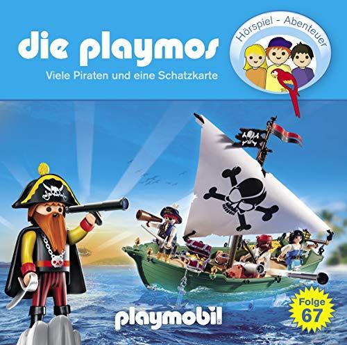 Die Playmos (67) Viele Piraten und eine Schatzkarte  - floff 2019