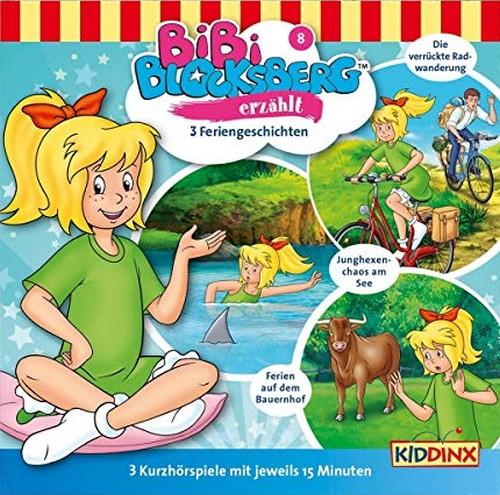 Bibi Blocksberg erzählt (8) Feriengeschichten - Kiddinx 2019