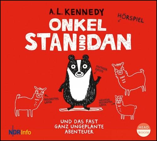 Onkel Stan und Dan und das fast ganz ungeplante Abenteuer (A. L. Kennedy) NDR / headroom 2019