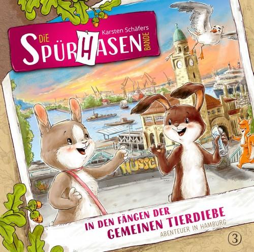 Die Spürhasen-Bande (3) In den Fängen der gemeinen Tierdiebe: Abenteuer in Hamburg - Eulenberg Verlag 2019