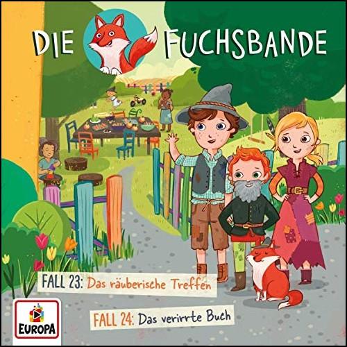 Die Fuchsbande (12) Das räuberische Treffen / Das verirrte Buch - Europa 2019