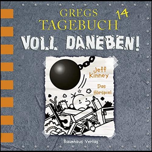 Gregs Tagebuch (14) Voll daneben! - Lübbe Audio 2019