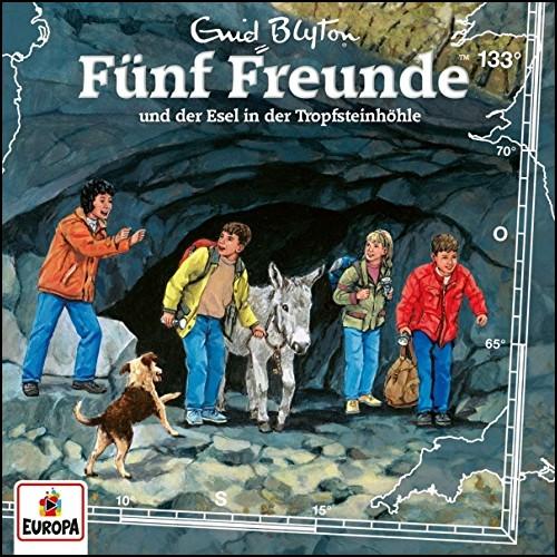 Fünf Freunde (133) Fünf Freunde und der Esel in der Tropfsteinhöhle - Europa 2019