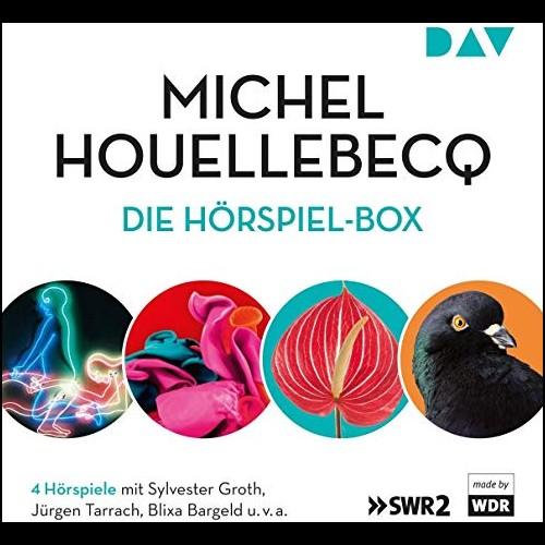 Michel Houllebecq – Die Hörspiel-Box () WDR 2001 / 2003 / SWR 2015 / DAV 2019