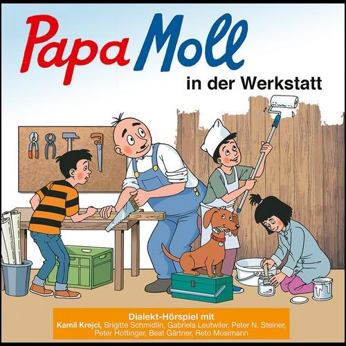 Papa Moll in der Werkstatt () Globi Verlag 2019