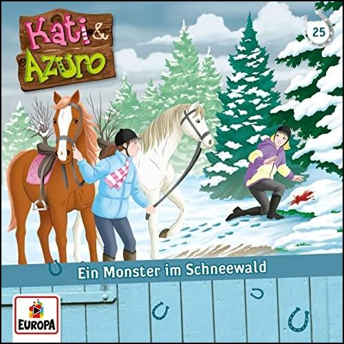 Kati und Azuro (25) Ein Monster im Schneewald  - Europa 2019