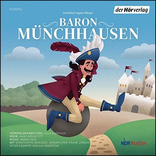 Baron Münchhausen (Gottfried August Bürger) NDR u. a. 2015 / Der Hörverlag 2020