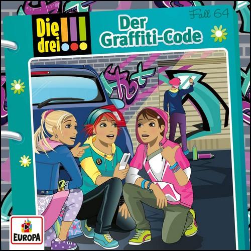 Die drei !!! (64) Der Graffiti-Code - Europa
