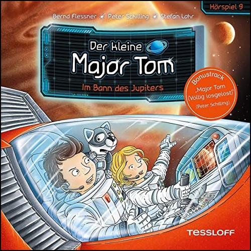 Der kleine Major Tom (9) im Bann des Jupiters - Tessloff 2020