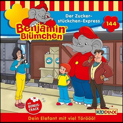 Benjamin Blümchen (144) Der Zuckerstückchen-Express  - Kiddinx 2020